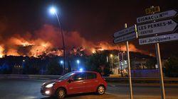 Les incendies au nord de Marseille sont désormais