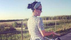 À l'île de Ré, même Katy Perry fait de la bicyclette (mais à sa