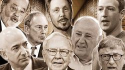 Ces huit hommes sont plus riches que la moitié la plus pauvre de la population