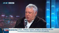 Gérard Filoche annonce qu'il soutiendra la candidature d'Arnaud Montebourg à la primaire de la