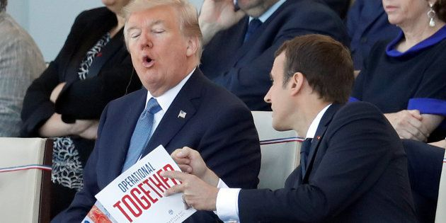 Macron pense que Trump