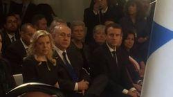 Vel d'Hiv: les images de l'arrivée de Netanyahu et