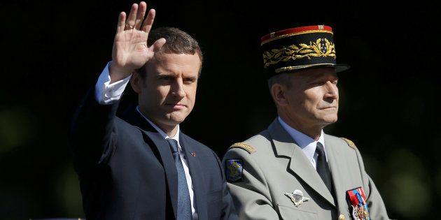 Entre Emmanuel Macron et Pierre de Villiers, son chef d'état-major, l'histoire d'une rupture en cinq