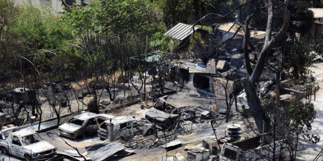 Après l'incendie, les habitants des Bouches-du-Rhône découvrent l'ampleur des