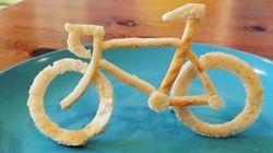 Un papa crée de chouettes sculptures sur toast pour sa