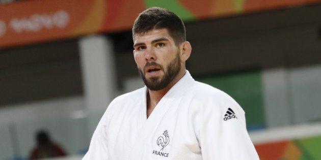 Le judoka français Cyrille Maret médaillé de bronze en -100 kg aux Jeux olympiques de