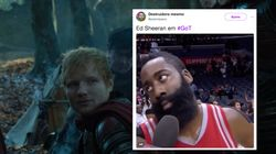 Comme prévu, le caméo d'Ed Sheeran dans