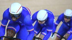 Les Français remportent le bronze en vitesse au cyclisme sur piste aux