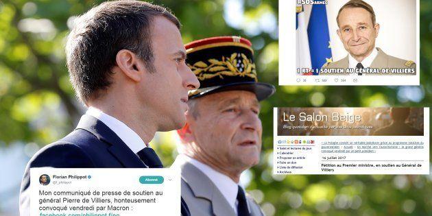 La brouille entre Macron et le général De Villiers, du pain bénit pour