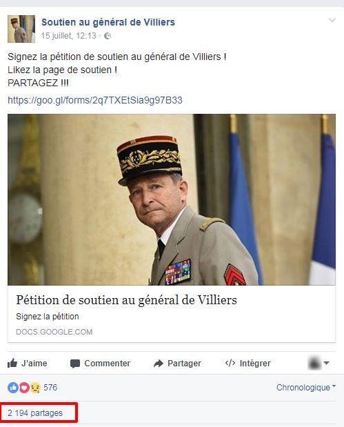 Après son clash avec Macron, le général de Villiers nouveau porte-étendard de la
