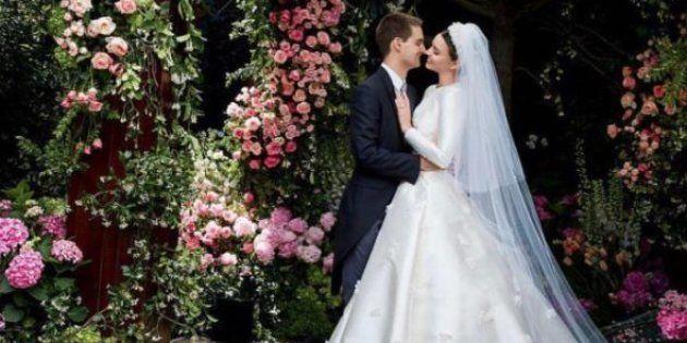 Miranda Kerr dévoile les photos de son mariage avec le fondateur de Snapchat Evan