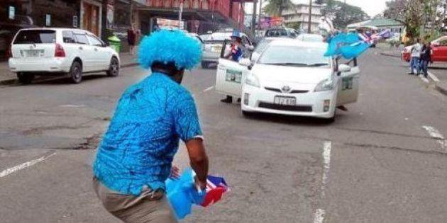 Toutes les îles Fidji en fête après la première médaille olympique de leur