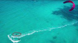 Cette kitesurfeuse française nous raconte sa rencontre avec un requin