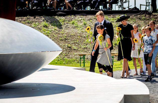 Le roi Willem-Alexander des Pays-Bas et la reine Maxima le 17