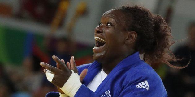 Émilie Andéol remporte la médaille d'or en judo dans la catégorie +78 kg à