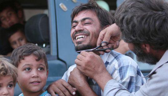 Les images saisissantes de ces civils libérés de