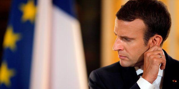 (Photo: Emmanuel Macron le 16 juillet 2017 à
