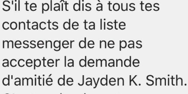 Jayden K Smith est un canular sans