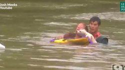 Ces héros sauvent de justesse une femme de la noyade en