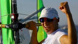 Charline Picon championne olympique de planche à voile