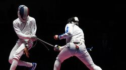 Les Français médaillés d'or en épée par