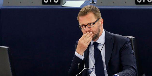 Jérôme Lavrilleux au Parlement européen en