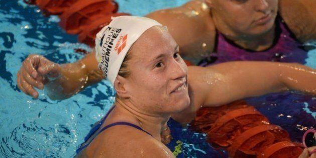JO 2016: arrivée 2e sur le 10 km en eau libre, la nageuse française Aurélie Muller est finalement