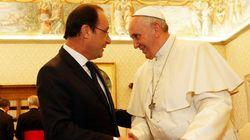 Union sacrée entre Hollande et le pape François face au terrorisme