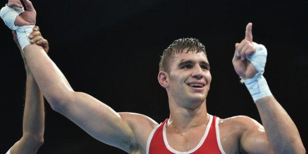Médaille de bronze pour le Français Mathieu Bauderlique en boxe -81 kg aux JO de