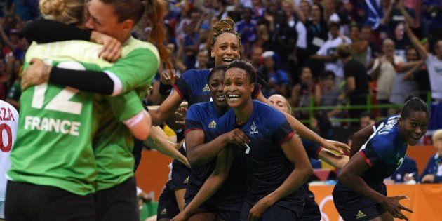 JO de Rio: la remontée incroyable des Bleues pendant France-Espagne en handball a donné des sueurs froides...