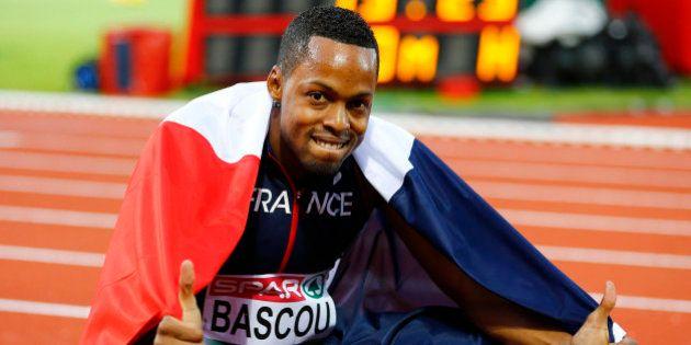 Athletics - European championships - Men's 110m hurdles final - Amsterdam - 9/7/16 France's Dimitri Bascou...