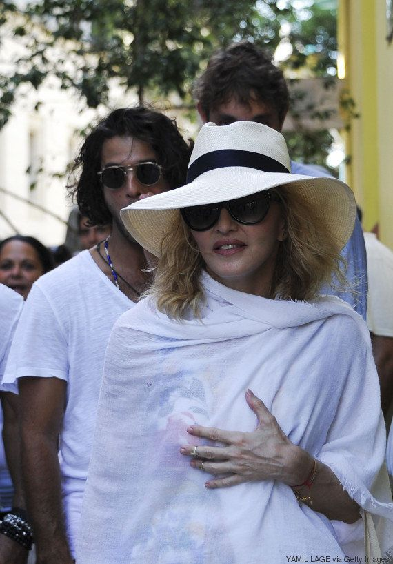 Pour son anniversaire, Madonna danse à La