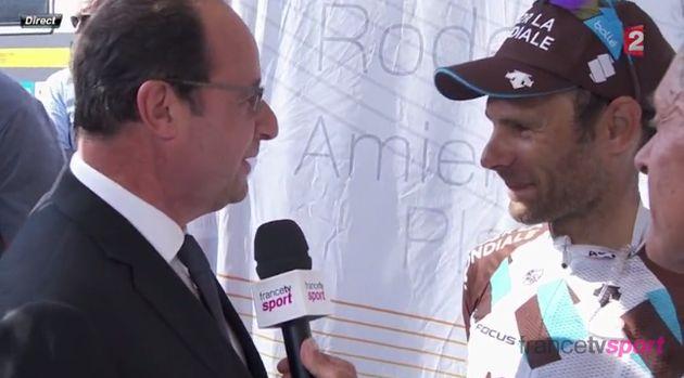 Etape 17 Tour De France 2017: Romain Bardet, Péraud, Voeckler, Virenque, Hinault... à chaque président...