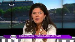 LCI s'excuse d'avoir tronqué l'extrait de Raquel Garrido, recrutée par