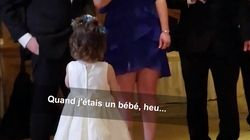 Le discours de cette petite fille a fait se tordre de rire les invités du