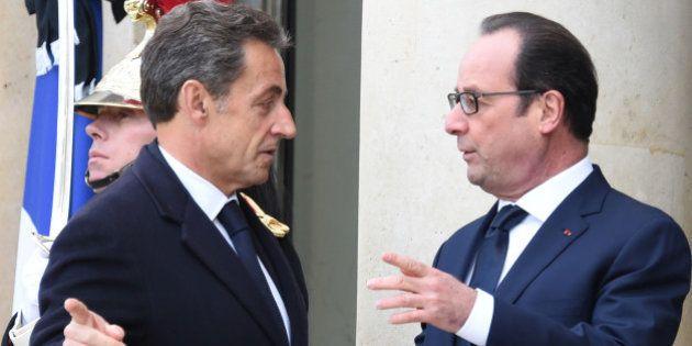 François Hollande se dit convaincu qu'il affrontera Nicolas Sarkozy en