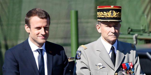 Après son clash avec Macron, le chef d'état-major des armées Pierre de Villiers annonce sa