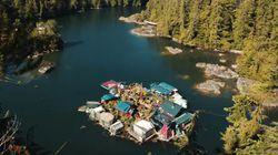 Depuis 24 ans, ce couple vit sur une île canadienne construite de A à