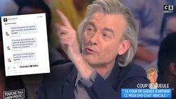 Arthur dévoile le double discours de Gilles Verdez en déterrant des messages