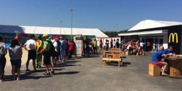 Olympiades de Rio: Le McDo du village olympique a dû prendre de sévères mesures contre les athlètes (mais...