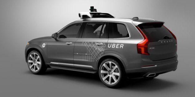 La voiture autonome d'Uber prend la route ce mois-ci aux Etats-Unis, et la course sera