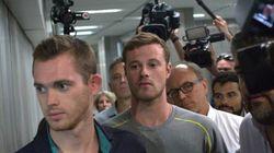 La police brésilienne confirme que les nageurs américains n'ont pas été volés à