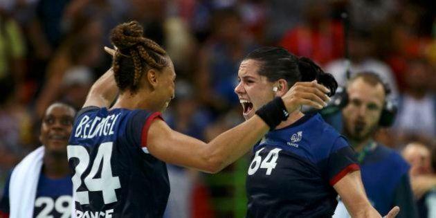 2016 Rio Olympics - Handball - Semifinal - Women's Semifinal Netherlands v France - Future Arena - Rio...