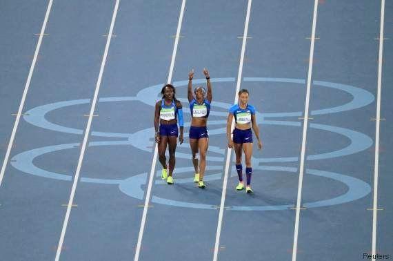 Seules en pistes aux Olympiades de Rio, les Américaines se qualifient pour la finale du