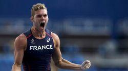 Kévin Mayer décroche la médaille d'argent du décathlon (et pulvérise l'ancien record de