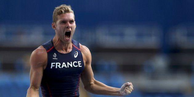 2016 Rio Olympics - Athletics - Final - Men's Decathlon Pole Vault - Groups - Olympic Stadium - Rio de...