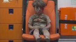 L'histoire de la photo d'Omrane, enfant syrien de 4 ans et symbole de la guerre en