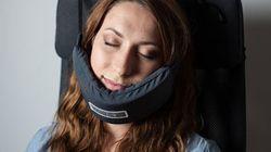 Ce hamac pour tête pourrait révolutionner vos siestes dans