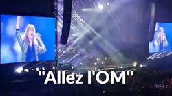 Céline Dion chante