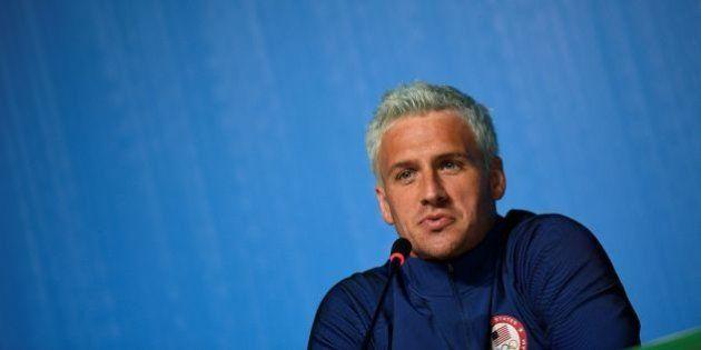 Après avoir inventé sa fausse agression à Rio, le nageur américain Ryan Lochte